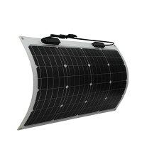特価ソーラーセット24Vフレキシブル100W(50Wx2)+SABB10+配線「延長ケーブル3.5sq6m」[正規品/日本語の説明書付き/2万円以上で配達無料!/無料保証2年(電池を除く)]