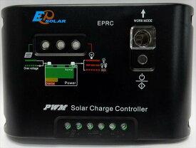 [販売終了] 充放電コントローラ 10A 12V・24V / EP Solar : EPRC10-EC[正規品/日本語の説明書付き/無料保証2年(電池を除く)]