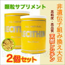 ◆送料無料◇天然100%レシチン【顆粒】ノンフレーバー2個セット