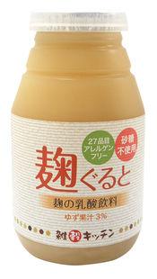 麹ぐると(ゆず)米発酵飲料