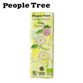 ピープルツリー フェアトレードチョコ【オーガニック/ビター/レモンピール】50g【People Tree】【板チョコレート】