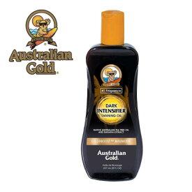 オーストラリアンゴールド ダークタンニングオイル 237ml〈カラーブースト処方/速く濃く美しい日焼け〉日焼けローション/サンケア