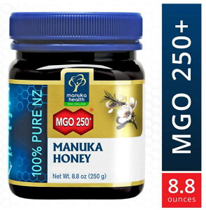 マヌカヘルス マヌカハニー MGO250+ 250g 【はちみつ ハチミツ 蜂蜜 自然食品 天然 ピュア 無添加】並行輸入 送料無料!