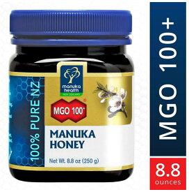 マヌカヘルス マヌカハニー MGO100+ 250g 【はちみつ ハチミツ 蜂蜜 自然食品 天然 ピュア 無添加】並行輸入 送料無料!