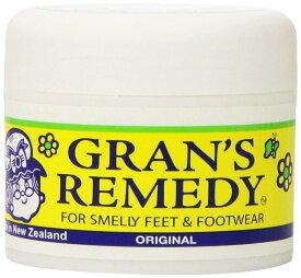 定形外郵便 送料無料!靴用消臭剤 Gran's Remedy/グランズレメディ オリジナル 50g (無臭)魔法の粉 Made in ニュージーランド