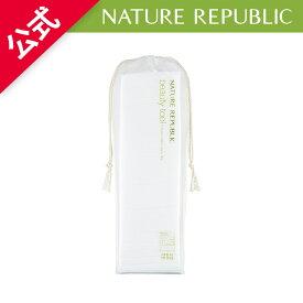 [NATURE REPUBLIC 公式]ビューティーツールナチュラル5枚重ね化粧用コットン80枚 コットンパッド メイク落とし 化粧水などをたっぷりと吸い込み