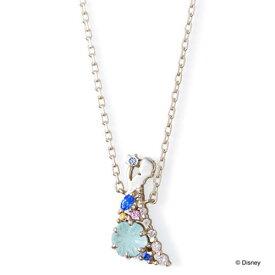 THE KISS ディズニー コレクション ネックレス シルバー アナと雪の女王 エルサ レディース シルエット 40cm ザ・キッス 誕生日 記念日 祝い プレゼント