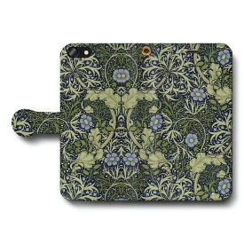 スマホケース 全機種対応 手帳型 ウィリアムモリス T iPhone6sPlus ケース 絵画 人気 あいふぉん Aquos sence3 SH-02m Xperia5 Google Pixel4
