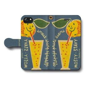 スマホケース 全機種対応 手帳型 レトロマッチラベル 北欧デザイン フルーツ iPhone6sPlus ケース 絵画 人気 あいふぉん Aquos sence3 SH-02m Xperia5 Google Pixel4