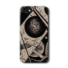 スマホケース ワシリー カンディンスキー kleine welten VI iPhone7 ケース iPhone8 絵画 レトロ 人気 Xperia10 GalaxyS20 A30 S10 iPhone12 iPhon11 iPhon11Pro ハードカバー 名画 名作絵画