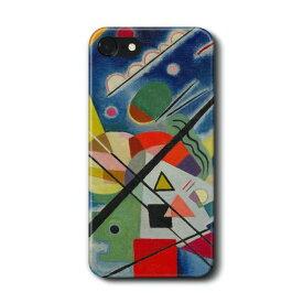 スマホケース ワシリー カンディンスキー 青い絵 GalaxyS20 A30 ケース ギャラクシー あいふぉん 絵画 人気 iPhone11 HUAWEI P30lite P20lite アイフォン12 アイフォン11