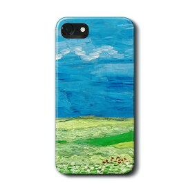 スマホケース 多機種対応 ハードケース ファン ゴッホ 雷雲の下の麦畑 Aquos sence ケース アクオス 絵画 ケース 人気 あいふぉん Google Pixel iPhon11 iPhon11Pro iPhoneXR iPhone7