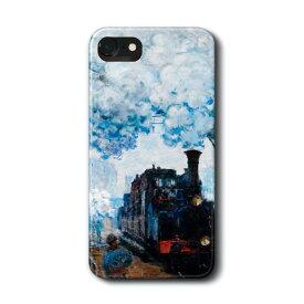 スマホケース クロード モネ サンラザール駅の列車の到着 GalaxyS20 A30 ケース ギャラクシー あいふぉん 絵画 人気 iPhone11 HUAWEI P30lite P20lite アイフォン12 アイフォン11