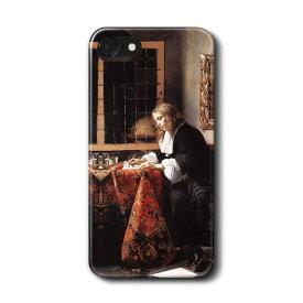 スマホケース ハブリエル メツー 手紙を書く男 iPhone7 ケース iPhone8 絵画 レトロ 人気 Xperia10 GalaxyS20 A30 S10 iPhone12 iPhon11 iPhon11Pro ハードカバー 名画 名作絵画