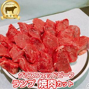 低糖質 赤身肉!牧草牛 ランプ肉(焼肉カット)1kg グラスフェッドビーフ  オメガ3脂肪酸 アミノ酸 糖質制限 腸活 成長ホルモン不使用 キャンプ アウトドア オージー・ビーフ