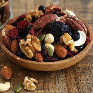 ミックスナッツ & フルーツ nuts&fruits キレイミックス トレイルミックス ドライフルーツ アーモンド ナッツ カシューナッツ ピーカンナッツ レーズン クランベリー ブルーベリー くるみ お