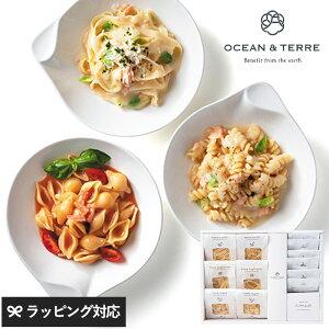 OCEAN & TERRE 北海道Premium 海鮮パスタセットC パスタ シーフード ギフト かわいい おしゃれ 詰め合わせ 甘くないもの イタリアン プレゼント 贈り物 お中元 お歳暮 内祝い 引出物