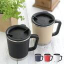 thermo mug サーモマグ DOUBLE MUG ダブルマグ ステンレスマグカップ マグカップ 保温 保冷 フタ付き 蓋付き ステンレ…