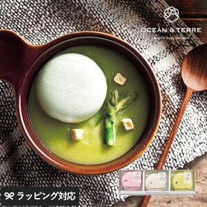 OCEAN & TERRE 北海道 野菜スープMONAKAセットA 野菜スープ 最中 もなか プチ ギフト かわいい 贈り物 おしゃれ 内祝い 引出物 返礼品 甘くないもの