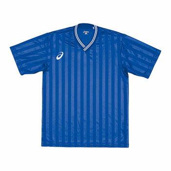 アシックス(asics) XS3138 JR.ゲームシャツHS 120 45(ブルー) XS3138