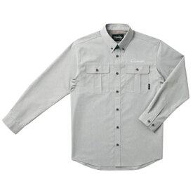 がまかつ(Gamakatsu) ダンガリーシャツ GM-3454 M グレー 53454
