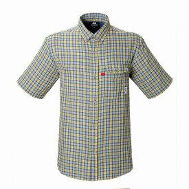 マウンテンイクイップメント(Mountain Equipment) SS Double Gauze Shirt (ダブルガーゼシャツ) S イエロー 421831