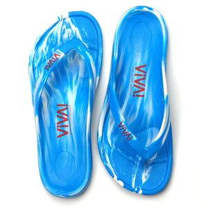 ビバアイランド(VIVA! ISLAND) VIVA ISLAND FLIP FLOP 40 White/Blue V-810108