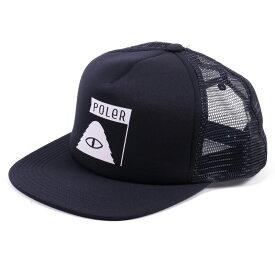 POLeR(ポーラー) SUMMIT TRUCKER MESH CAP フリー NAVY 55300007-NVY
