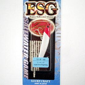 ラッキークラフト(LUCKY CRAFT) WANDER(ワンダー) ESG 60mm レッドヘッド