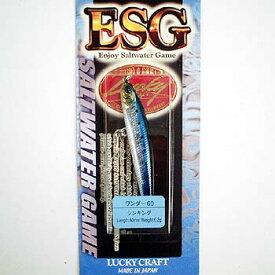 ラッキークラフト(LUCKY CRAFT) WANDER(ワンダー) ESG 60mm メタリックイワシ