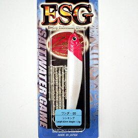 ラッキークラフト(LUCKY CRAFT) WANDER(ワンダー) ESG 80mm レッドヘッド