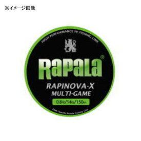 Rapala(ラパラ) ラピノヴァ・エックス マルチゲーム 150m 0.6号/13lb ライムグリーン