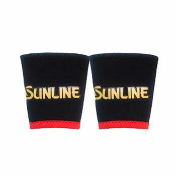 サンライン(SUNLINE) リストバンド(サンラインマーク) L ブラック SUN-1102