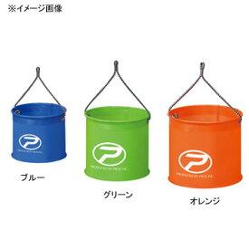 プロックス(PROX) EVA丸バケツ 24cm オレンジ・ブルー・グリーン PX836M24