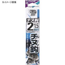 ささめ針(SASAME) チヌ 糸付 鈎3/ハリス1.5 黒 AA302