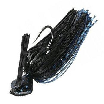 エバーグリーン(EVERGREEN) キャスティングジグ シリコンラバーモデル 1/4oz #102 ブラック・ブルー