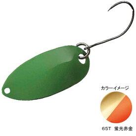 シマノ(SHIMANO) TR-0010 カーディフ ロールスイマー 0.9g 65T 蛍光赤金 43584