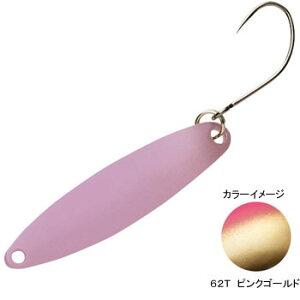 シマノ(SHIMANO) TR-0019 カーディフ スリムスイマー 2.5g 62T(ピンクゴールド) 43631