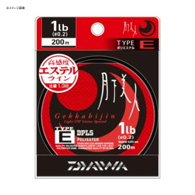 ダイワ(Daiwa) 月下美人TYPE-E 200m 2.5LB クリア 04625464