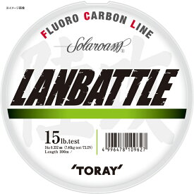 東レモノフィラメント(TORAY) ソラローム ランバトル 100m 4LB ナチュラル S75L