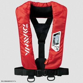 ダイワ(Daiwa) DF-2007 ウォッシャブルライフジャケット(肩掛けタイプ手動・自動膨脹式) フリー レッド 04595374