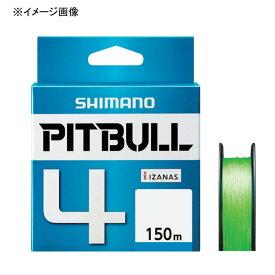 シマノ(SHIMANO) PL-M54R PITBULL(ピットブル)4 150m 0.6号 ライムグリーン 57256