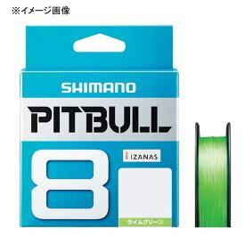 シマノ(SHIMANO) PL-M58R PITBULL(ピットブル)8 150m 0.6号 ライムグリーン 57274