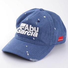 アブガルシア(Abu Garcia) ダメージデニムキャップ フリー ブルー 1479688
