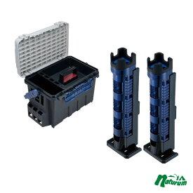メイホウ(MEIHO) 明邦 ★バケットマウス BM-9000+ロッドスタンド BM-300 Light2本組セット★ Cブルー×ブラック
