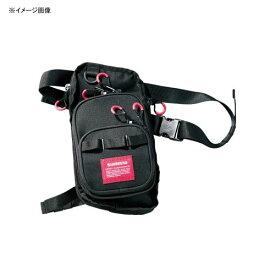 シマノ(SHIMANO) WB-022R ランガンレッグバッグ L ブラック 62117