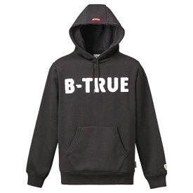 エバーグリーン(EVERGREEN) B-TRUE プレミアムプルパーカー L ブラック