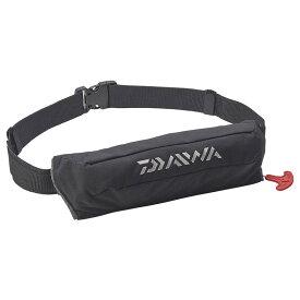ダイワ(Daiwa) DF-2220 コンパクトライフジャケット(ウエストタイプ自動・手動膨脹式)) フリー ブラック 08370171