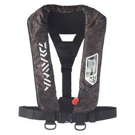 ダイワ(Daiwa) DF-2007 ウォッシャブルライフジャケット(肩掛けタイプ手動・自動膨脹式) フリー ブラックヘクス 08370186
