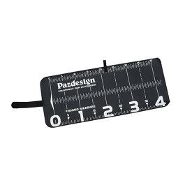 パズデザイン プロテクトメジャー40 ブラックホワイト PAC-297